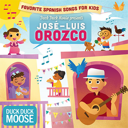 orozco cover Favorite Spanish Songs by José Luis Orozco